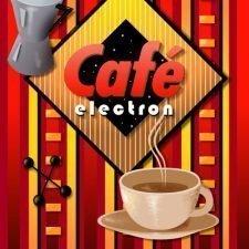 Cafe Electron Sign