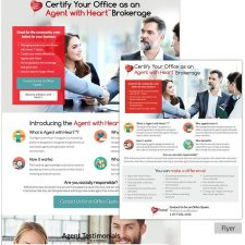 Flyer and Landing Page