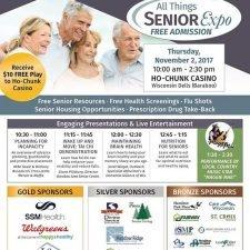 Flyer Design for the Senior Expo