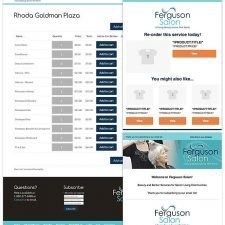 Landing Page WooCommerce and Email