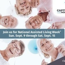 Ad Design for National Assisted Living Week