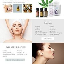 Website Design for Life Essentials Day Spa