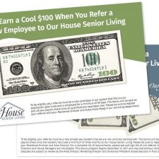 Referral Direct Mail for Our House