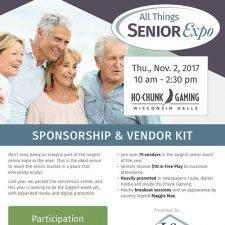 Vendor Kit Flyer Design for Seniors Expo