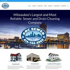 ABC Sewer Website Design