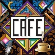 cafe sign pattern
