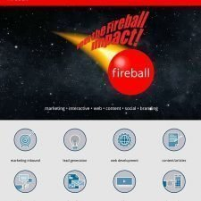 Fireball Marketing Website Design