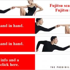 Fujitsu Web Banner Design