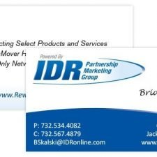 IDR Business Card Design