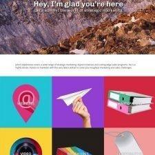 Website Design for John Peretz