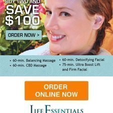 Buy 2 and Save Email Design for Life Essentials Day Spa