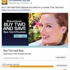 Facebook Ad Designs for Life Essentials