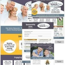 Flyer, Form, Social Ad and Landing Page