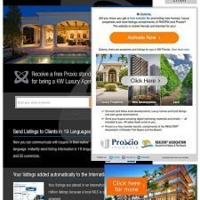 Email, Facebook Ad and Landing Page fro Proxio Luxury