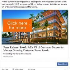 Proxio Facebook Ad Design