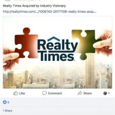 Facebook Ad Designs for Realty Times