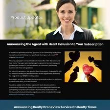 Realty Times Landing Page Design