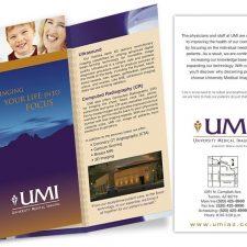 UMI Tri-fold Brochure Design