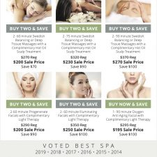 Springs Savings Ad for Life Essentials Day Spa