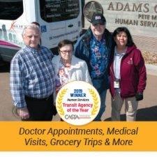Rack Brochure Design for Adams County