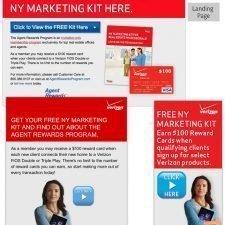 Verizon FiOS NY Landing Page