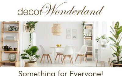 Decor Wonderland Banner Ad Designs