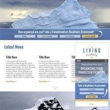 The Living Planner Website