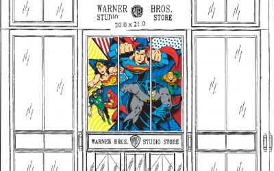 DC Universe Window Designs