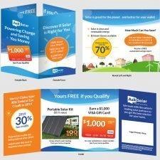Ask Solar Folded Brochure Design