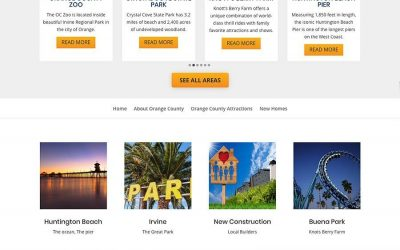 Explore OC Website Design