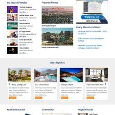 Bring it Home Las Vegas Portal Website