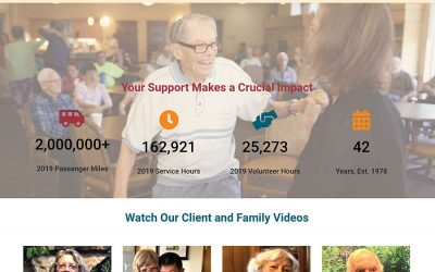 Seniors Resource Center Web Design