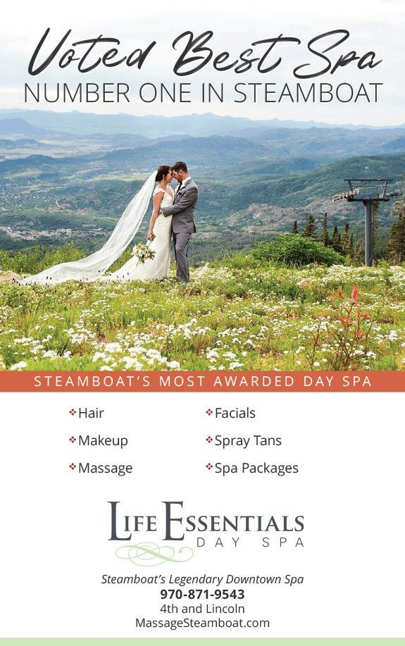 Wedding Ad Design for Life Essentials Day Spa
