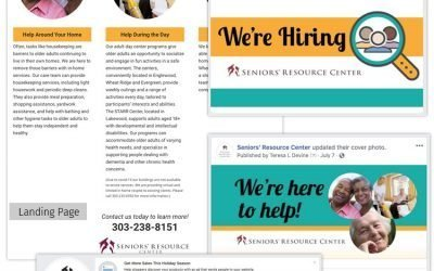 Hiring and Help Landing Pages for SRC