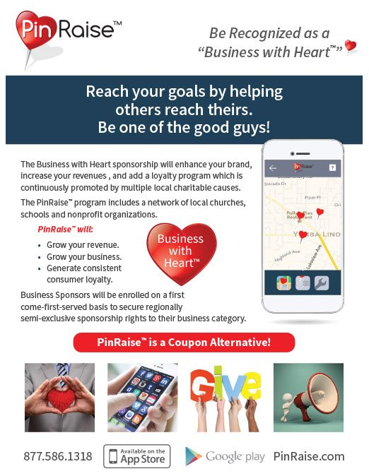 PinRaise Flyer Design