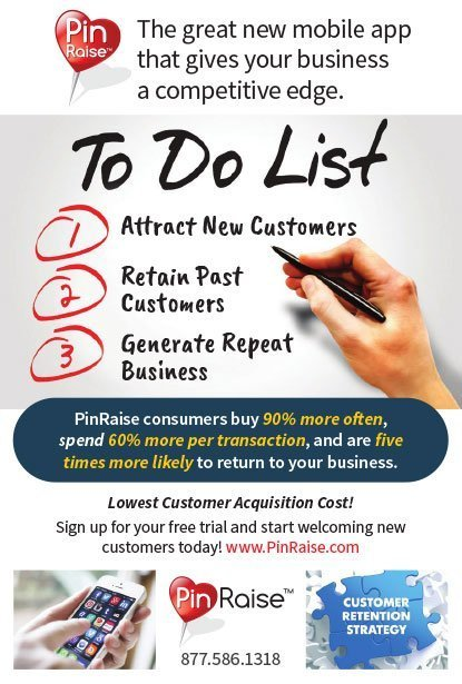 PinRaise Direct Mail Design