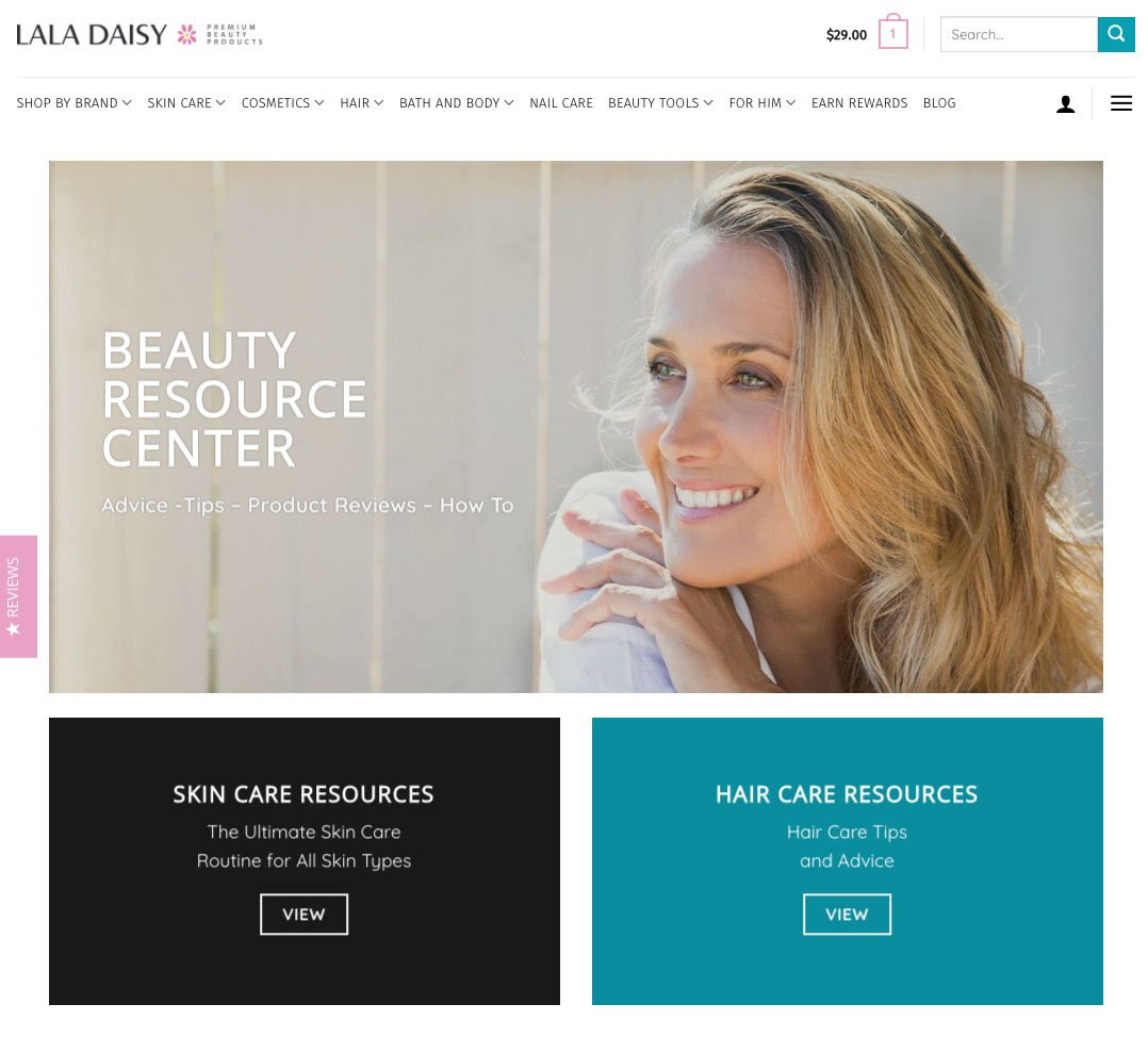 LaLaDaisy Beauty Resources Page