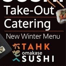 Tahk Omakase Take-out Ad