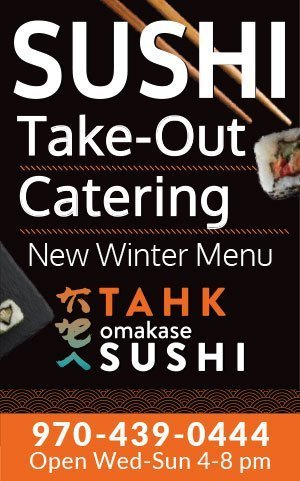 Tahk Omakase Take-out Ad
