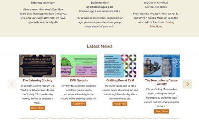 Elkhorn Valley Website Design