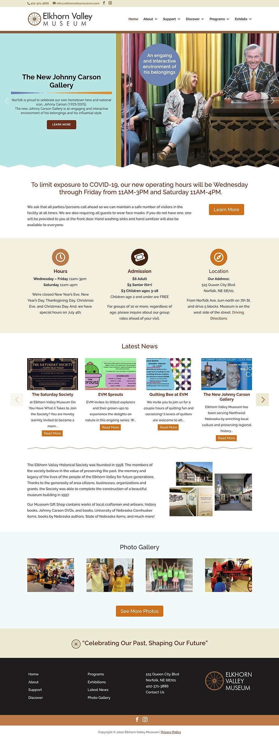 Elkhorn Valley Website Design