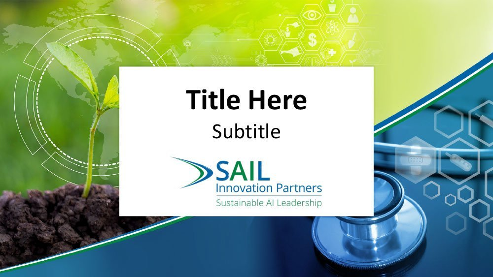 SAIL Innovation Partners Powerpoint template