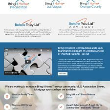 Bring it Home® Communities Web Design
