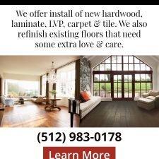 Hardwood Flooring Specialists Banner Ad Design